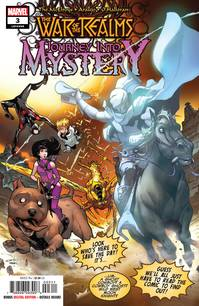 WAR OF REALMS JOURNEY INTO MYSTERY #3 (OF 5) NOWLAN VAR - Packrat Comics