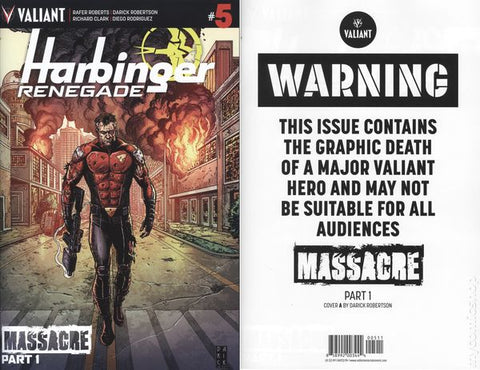 HARBINGER RENEGADE #5 - Packrat Comics