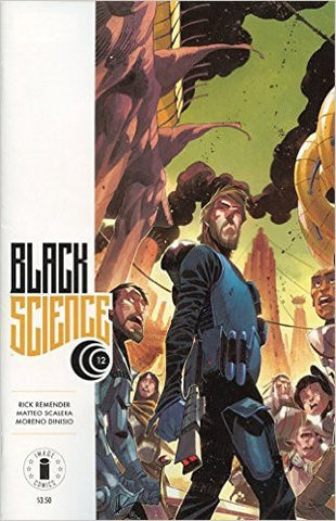Black Science #12 Floor Display Variant