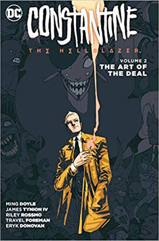 CONSTANTINE THE HELLBLAZER TP VOL 02 THE ART OF THE DEAL - Packrat Comics