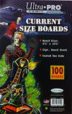 Ultra Pro Comic Series Current Boards 1 Pack 6.75 x 10.5 24pt (100 Total)