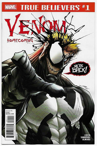 TRUE BELIEVERS VENOM HOMECOMING #1 - Packrat Comics