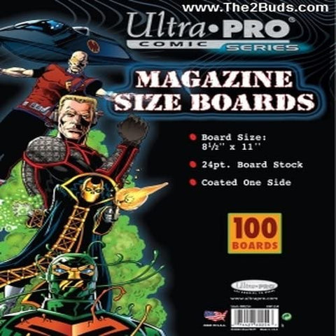 Ultra Pro / IMAGE GUARD Magazine Size Boards (Pack of 100) - Packrat Comics