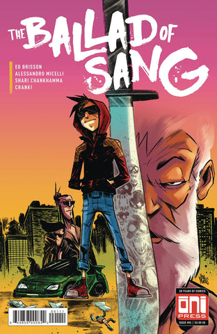 BALLAD OF SANG #1 (OF 5) CVR A (MR) - Packrat Comics