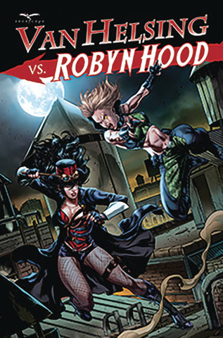 VAN HELSING VS ROBYN HOOD #3 (OF 4) CVR B WHITE - Packrat Comics