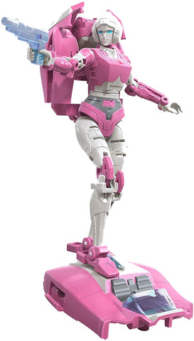Transformers Toys Generations War for Cybertron: Earthrise Deluxe WFC-E17 Arcee Action Figure - Kids Ages 8 and Up, 5.5-inch - Packrat Comics
