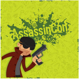 AssassinCon Board Game - Packrat Comics