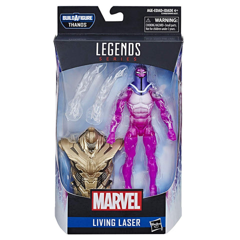 Hasbro Marvel Legends Series 6-inch Living Laser