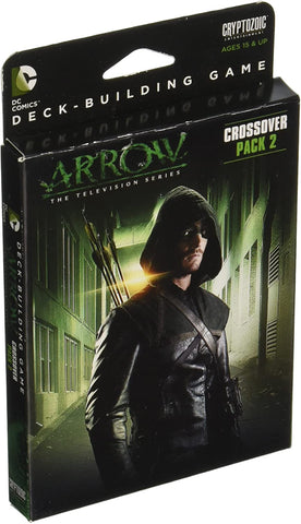 Cryptozoic Entertainment DC Deck-Building Game Crossover Pack 2: Arrow – The Television Series - Packrat Comics