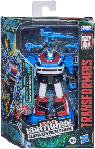 Transformers Toys Generations War for Cybertron: Earthrise Deluxe WFC-E20 Smokescreen Action Figure - Kids Ages 8 and Up, 5.5-inch - Packrat Comics