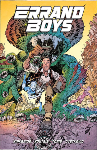 ERRAND BOYS #1 (OF 5) CVR B LARSEN - Packrat Comics