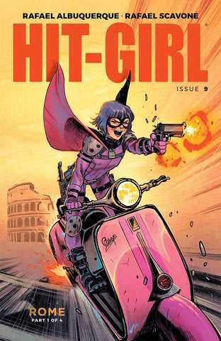 HIT-GIRL #9 CVR A ALBUQUERQUE (MR) - Packrat Comics