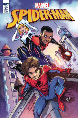 SPIDER-MAN (IDW) #2 - Packrat Comics