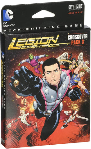 Cryptozoic Entertainment DC Deck-Building Game Crossover Pack 3: Legion of Super-Heroes