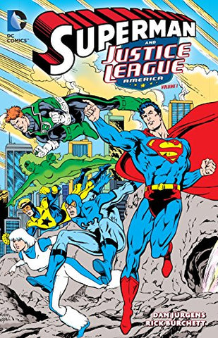SUPERMAN & THE JUSTICE LEAGUE OF AMERICA TP VOL 01 - Packrat Comics