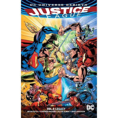 JUSTICE LEAGUE TP VOL 05 LEGACY REBIRTH - Packrat Comics