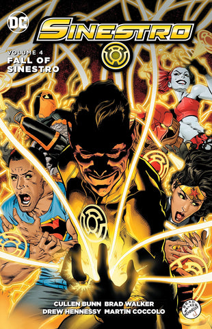 SINESTRO TP VOL 04 THE FALL OF SINESTRO - Packrat Comics
