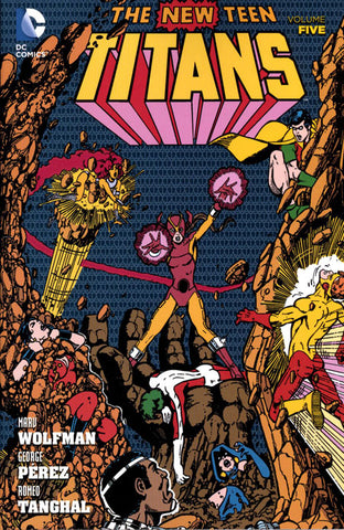NEW TEEN TITANS TP VOL 05 - Packrat Comics