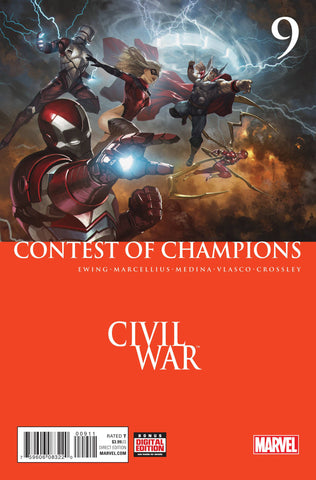 CONTEST OF CHAMPIONS #9 - Packrat Comics