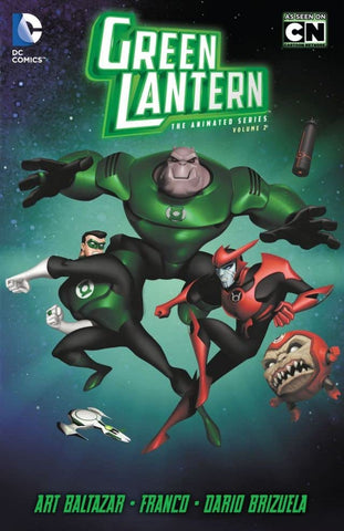 GREEN LANTERN THE ANIMATED SERIES TP VOL 02 - Packrat Comics