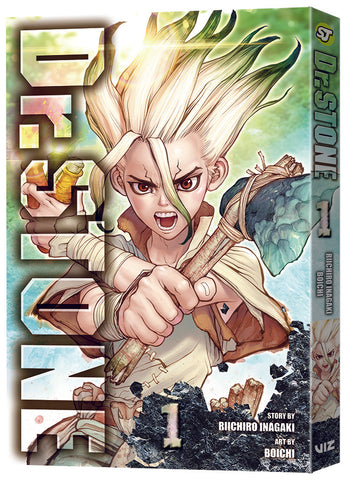 DR STONE GN VOL 01 - Packrat Comics