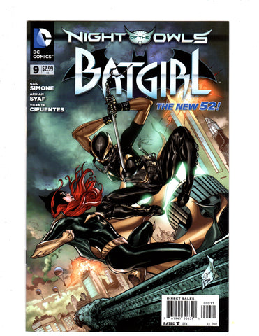 BATGIRL #9 (NIGHT OF THE OWLS) - Packrat Comics
