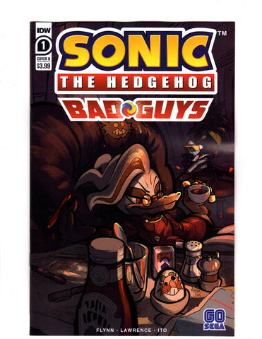 SONIC THE HEDGEHOG BAD GUYS #1 (OF 4) CVR B SKELLY - Packrat Comics