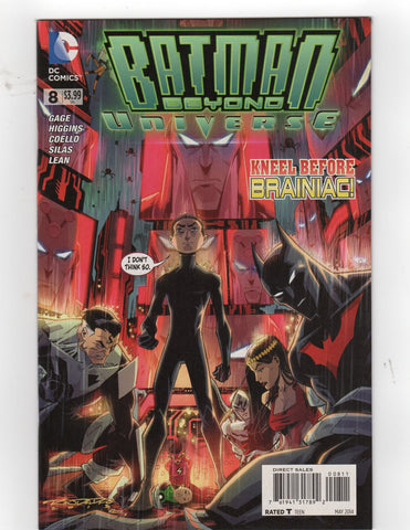 BATMAN BEYOND UNIVERSE #8 - Packrat Comics