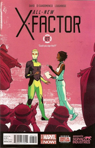ALL NEW X-FACTOR #7 - Packrat Comics