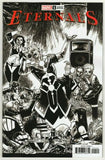 THE ETERNALS #1 ONE PER STORE HUMBERTO RAMOS PARTY SKETCH VARIANT COVER! - Packrat Comics