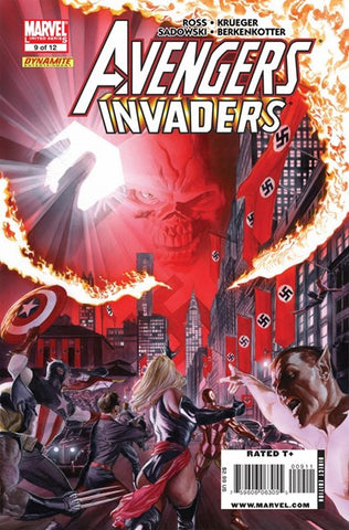 AVENGERS INVADERS #9 (OF 12) - Packrat Comics