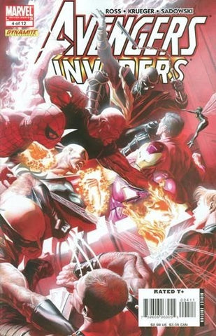 AVENGERS INVADERS #4 (OF 12) - Packrat Comics