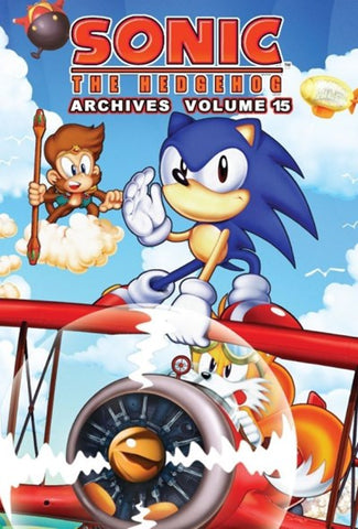 Sonic The Hedgehog Archives VOL 15 - Packrat Comics