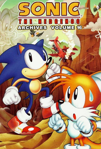 Sonic The Hedgehog Archives VOL 16 - Packrat Comics