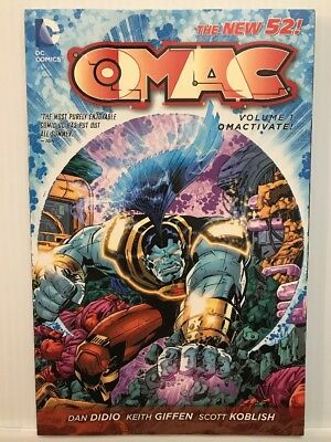 OMAC TP VOL 01 OMACTIVATE (N52) - Packrat Comics