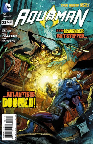 AQUAMAN #23 - Packrat Comics