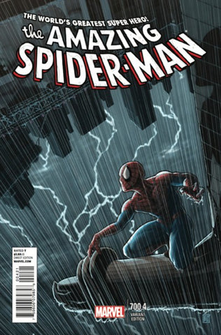 AMAZING SPIDER-MAN #700.4 PIERFEDERICI VAR