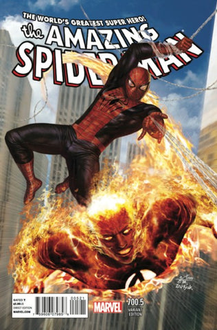 AMAZING SPIDER-MAN #700.5 IN HYUK LEE VAR - Packrat Comics