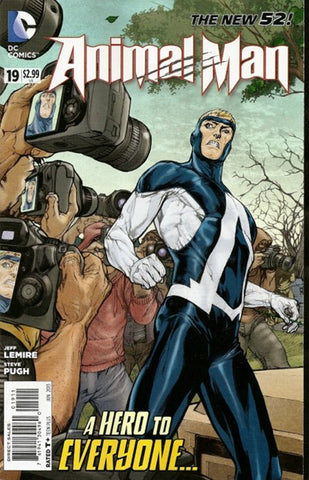 ANIMAL MAN #19 - Packrat Comics