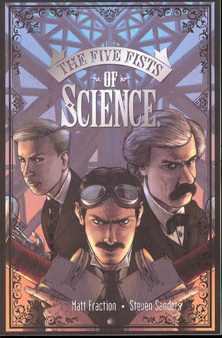 FIVE FISTS OF SCIENCE GN - Packrat Comics