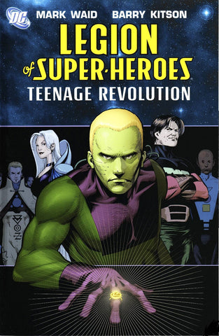 LEGION OF SUPER HEROES TP VOL 01 TEENAGE REVOLUTION
