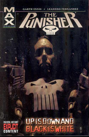 PUNISHER MAX TP VOL 04 UP IS DOWN AND BLACK IS WHITE (MR) - Packrat Comics