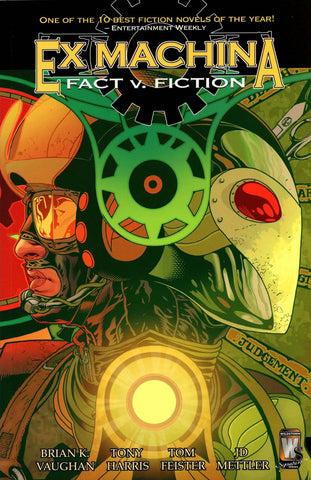 EX MACHINA TP VOL 03 FACT V FICTION (MR) - Packrat Comics