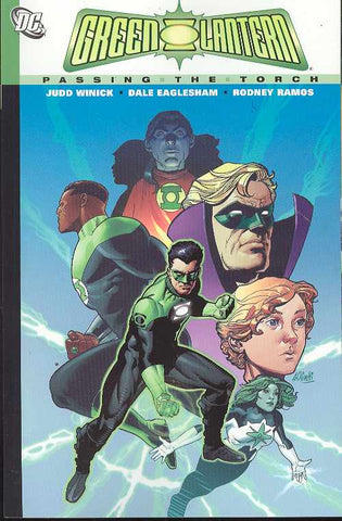GREEN LANTERN PASSING THE TORCH TP - Packrat Comics