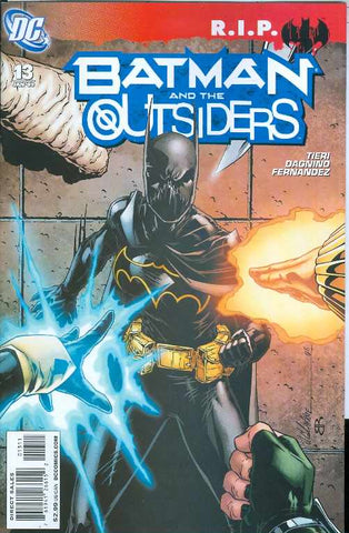 BATMAN AND THE OUTSIDERS #13 RIP