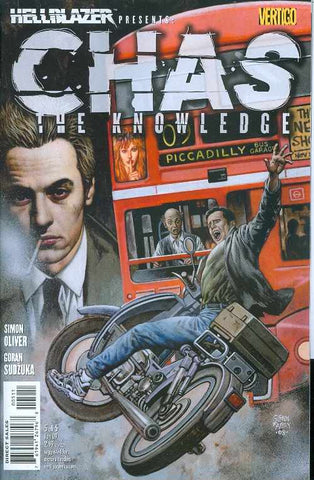 HELLBLAZER PRESENTS CHAS THE KNOWLEDGE #5 (OF 5) (MR)