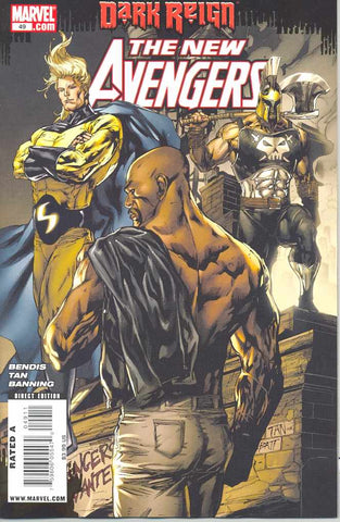 NEW AVENGERS #49 DKR - Packrat Comics