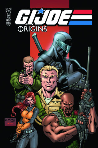 GI JOE ORIGINS #1 - Packrat Comics