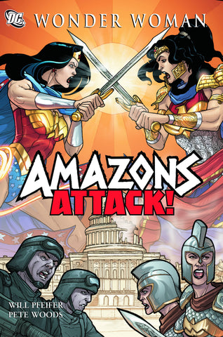 WONDER WOMAN AMAZONS ATTACK SC - Packrat Comics
