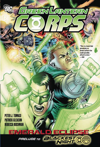 GREEN LANTERN CORPS EMERALD ECLIPSE HC - Packrat Comics